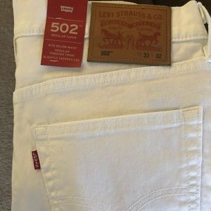 New Levi's 502 tapered Men's jeans 33w 32l